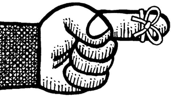 string finger