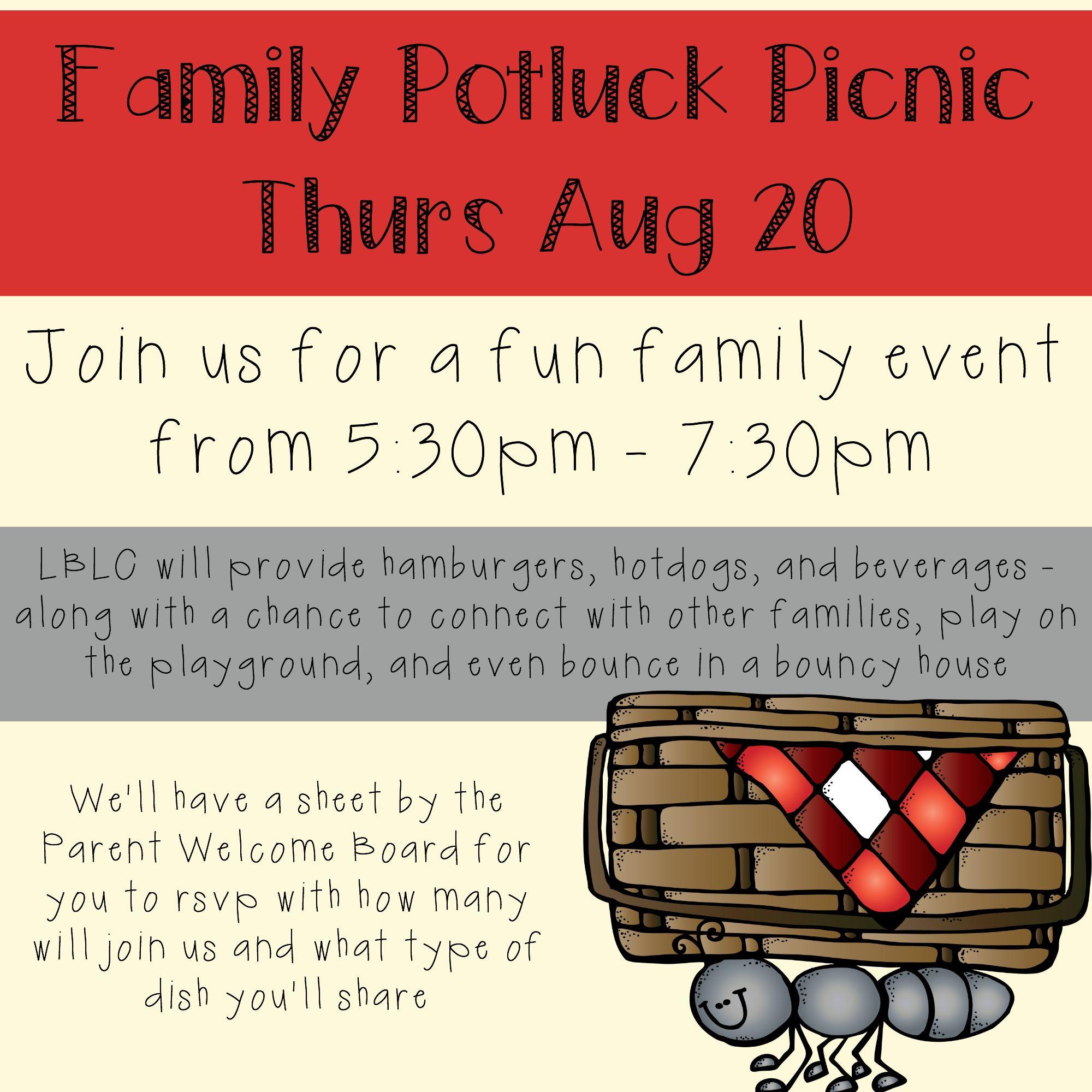potluck picnic