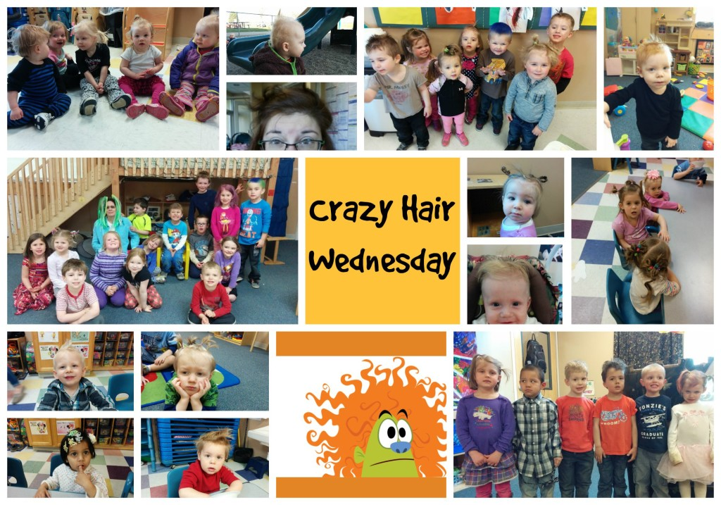 Crazy Hair Wednesday Mix