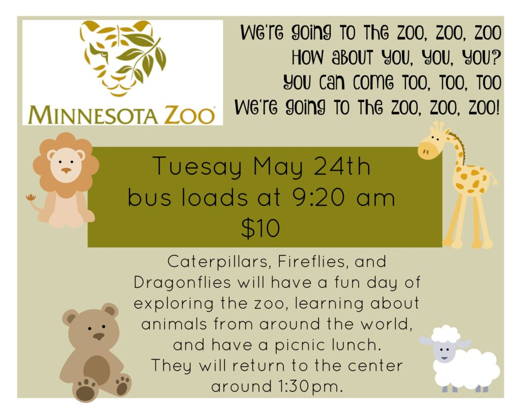 MN Zoo Trip
