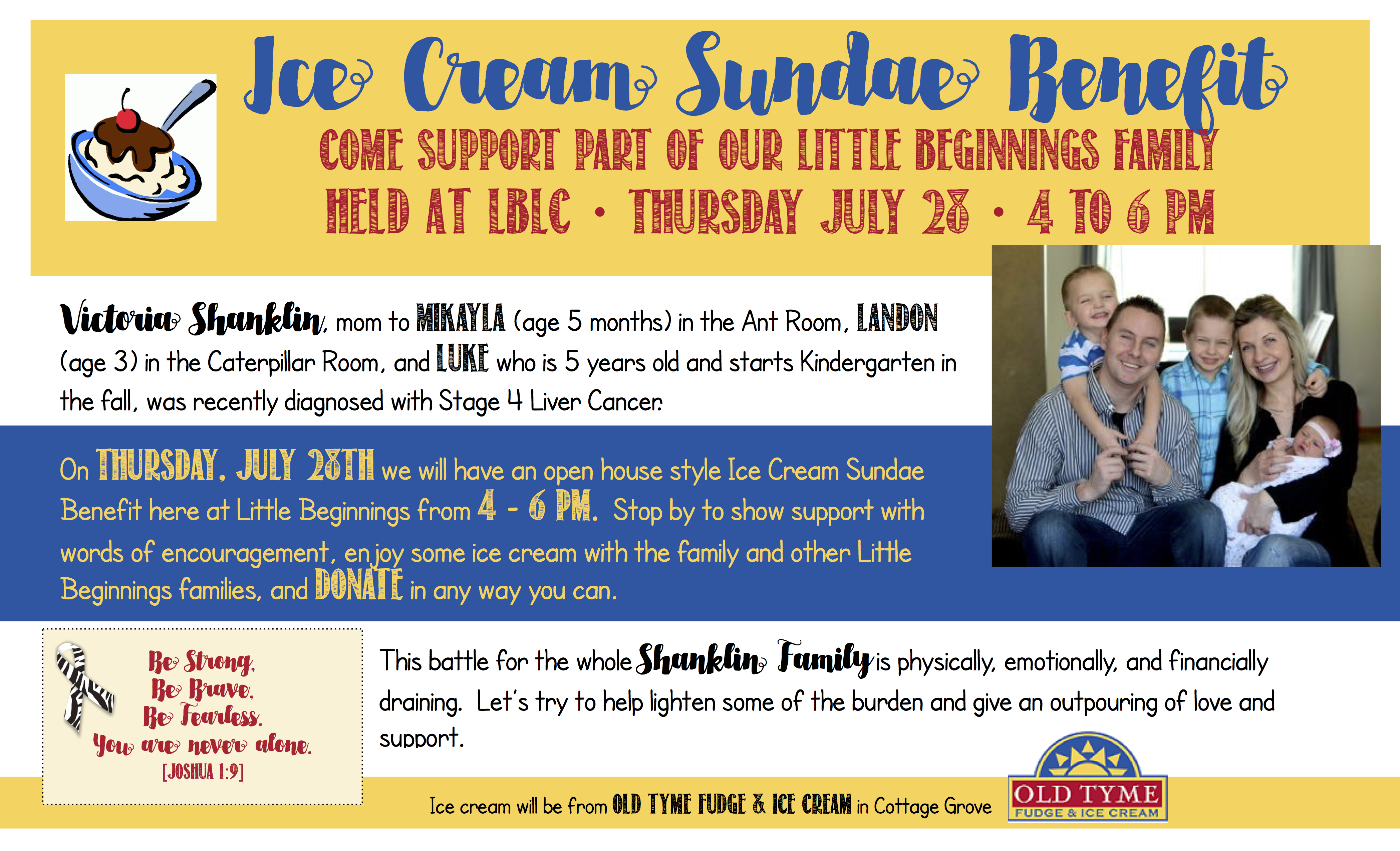 Ice Cream Sundae Benefit Big