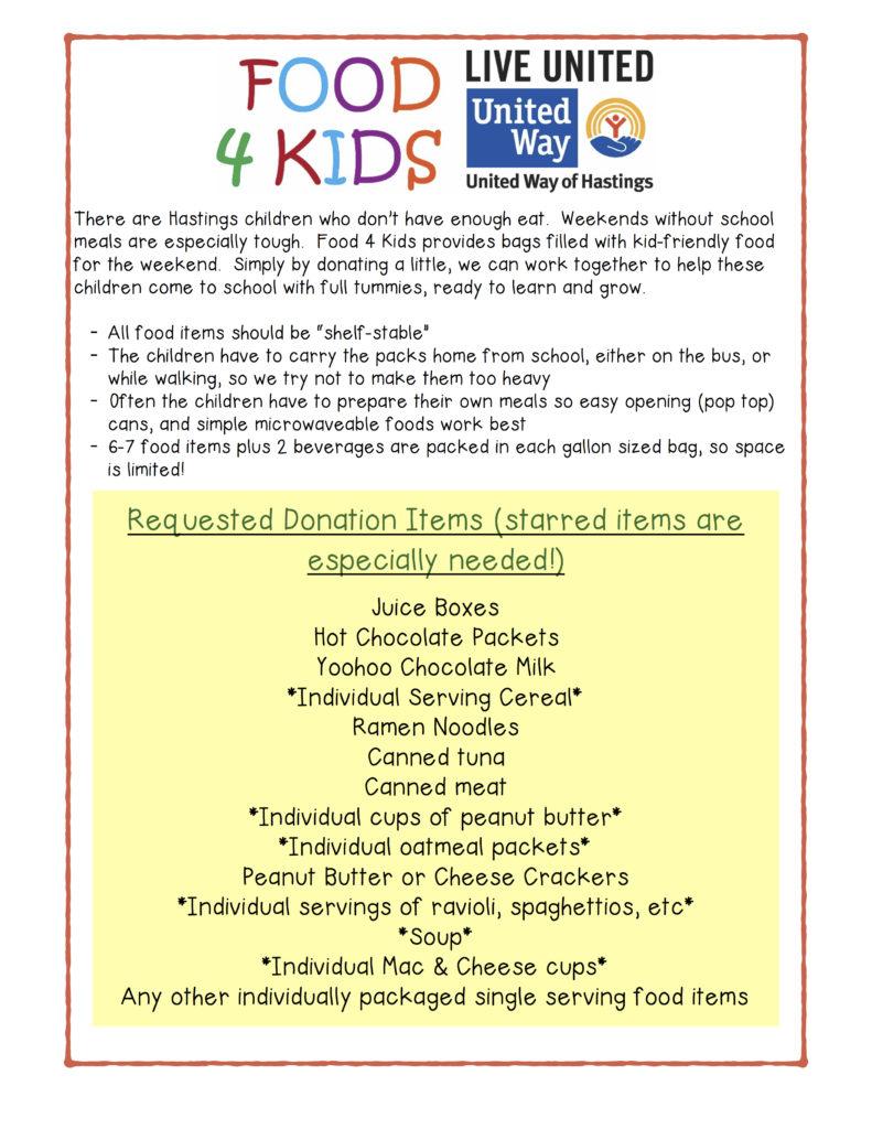 food-4-kids-poster